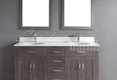 Kalize Double French Gray - kind of in love with this colour for the vanity...