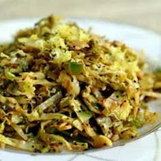 Hashed Brussels Sprouts with Lemon
