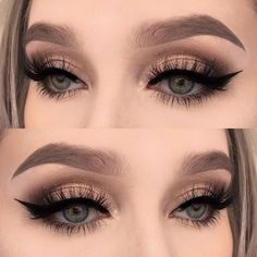 Eye Makeup Tips.Smokey Eye Makeup Tips - For a Catchy and Impressive Look Prom Eye Makeup, Clown Makeup, Skin Makeup, Wedding Makeup, Makeup Brushes, Beauty Makeup, Blue Makeup, Halloween Makeup, Witch Makeup
