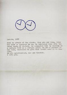 Felix Gonzalez-Torres, Lovers, 1988