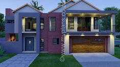 The post 3 Bedroom House Plan appeared first on My Building Plans South Africa. Round House Plans, Free House Plans, My Building, Building Plans, 4 Bedroom House Plans, Architect Fees, Beautiful House Plans, Modern House Design, Floor Plans