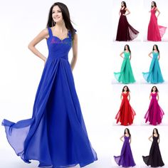 New-Womens-Dresses-Long-Chiffon-Sweetheart-Sleeveless-Formal-Party-Gowns-6