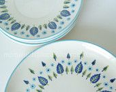 My grandma had these dishes!  (prob from a more recent era than the 50's... so sue me :)