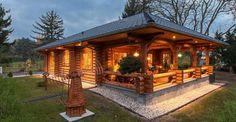 Cozy Log Cabin With Floor Plan