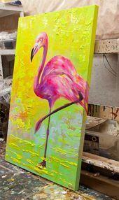Riesen Flamingo Paar 86 cm Deko Garten Figuren Resin Balkon Metall Geschenk