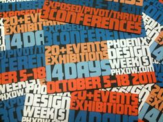 PHXDW Teaser Cards by Mark Dudlik