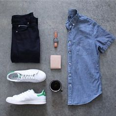 Jean blue tennis blanco adidas