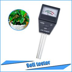 2 in 1 Soil PH meter& fertility tester with 3 Probes Ideal instrument for gardening