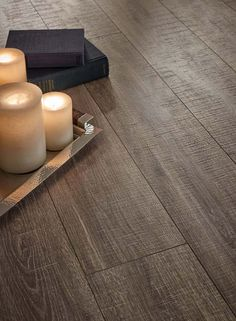 Look at that detail! This Pergo Max Premier Heathered Oak style is warm and inviting.