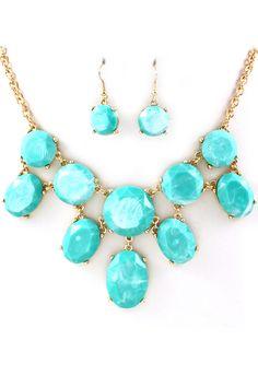 Turquoise Lotta Necklace Set