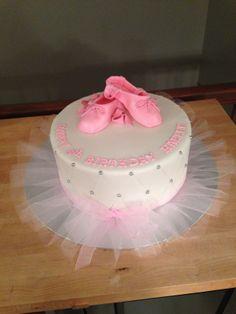 - Ballet Birthday Cake