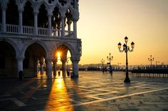 Venice, Italy Postcards From Italy, Sunrise, Venice Italy, Instagram Posts, Venice, Sunrises, Sunrise Photography, Rising Sun