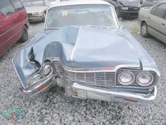 Learn All About Vehicle Repair In This Article. Are you worried about making decisions involving your auto repair and maintenance? Crying Shame, Old Vintage Cars, Rust In Peace, Damaged Cars, Car Crash, All Cars, Barn Finds, Impala, Car Ins