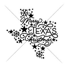 Merry Texas Christmas State SVG dxf png eps Files for Cutting Machines like Silhouette Cameo and Cricut, Commercial Use Digital Design Christmas Svg, Christmas Shirts, Christmas Ideas, Rustic Christmas, Christmas Stuff, Christmas Decorations, Monogram Frame, Monogram Fonts, Stencils For Wood Signs