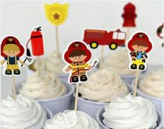 bar bar on sale at reasonable prices, buy fireman cake toppers cupcake picks cases fire fighter kids birthday party decoration baby shower candy bar from mobile site on Aliexpress Now! Firefighter Cupcakes, Fireman Cupcakes, Fireman Cake, Cupcake Picks, Cupcake Toppers, Cupcake Cakes, Kid Party Favors, Birthday Party Decorations, Fire Fighter Cake