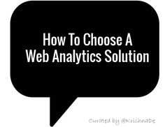 Choosing the analytics tool you will use to track what's happening on your web site can be a time-consuming, expensive, and incredibly frustrating Web Analytics Tools, Media Communication, Content Marketing Strategy, Business Goals, Digital Marketing, Social Media, Tips, Social Networks, Social Media Tips