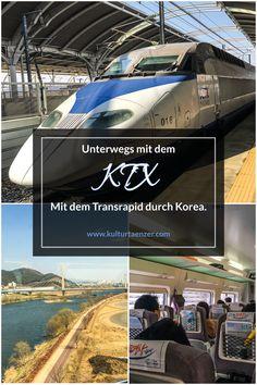 Unterwegs mit dem KTX.