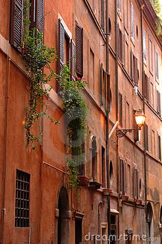 Ancient Buildings In Rome, Italy