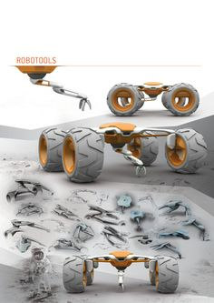ROBOTOOLS by Michael Barthels, via Behance