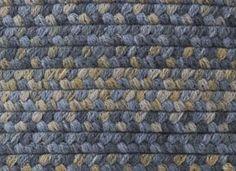 Hudson Whipple Blue Braided Rug Uk