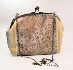elegante Abendtasche Clipverschluss Bügeltasche von creatissimo - besondere Dinge für besondere Menschen auf DaWanda.com