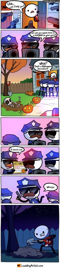 50  Funny Halloween Comics To Celebrate This Day With Laughter