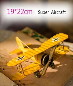 Cheap ornaments, Buy Quality ornaments home Directly from China Suppliers:Ornaments Crafts gift Vintage biplane model Zakka grocery Home Furnishing creative jewelry ornaments Ornament Crafts, Ornaments, Funky Furniture, Metal Crafts, Vintage Home Decor, Vintage Ideas, Craft Gifts, Decor Crafts, Handicraft