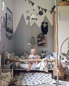 34 cozy scandinavian kids bedroom design ideas best home decor reference 34 cozy scandinavian kids bedroom design ideas devised in the coldest region, scandinavian style is pine, authentic Incorporate Baby Playroom, Playroom Decor, Baby Room Decor, Bedroom Decor, Bedroom Lamps, Bedroom Lighting, Nursery Decor, Wall Decor, Small Room Bedroom