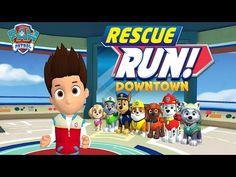 PAW Patrol Rescue Run: Downtown (by Nickelodeon) - Universal - HD Gameplay Trailer - YouTube