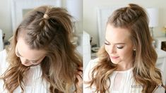 Mohawk braids are an edgy and funky hair development. These hairstyles help you put on a mohawk with out having to shave your hair, so it's not everlasting and French Braid Mohawk, Mohawk Braid Styles, Half French Braids, Braided Mohawk Hairstyles, Braided Hairstyles Tutorials, My Hairstyle, Down Hairstyles, Pretty Hairstyles, Easy Hairstyles