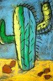 Artsonia Art Exhibit :: Prickly Cacti (2nd)