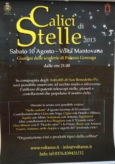 calici sotto le stelle a Volta Mantovana http://www.panesalamina.com/2013/15099-calici-sotto-le-stelle-a-volta-mantovana-2.html
