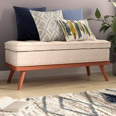 You'll love the Ronquillo Upholstered Storage Bench at Wayfair - Great Deals on all Furniture products with Free Shipping on most stuff, even the big stuff.