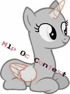 Hey everybody! I'm opening a mlp Oc contest.The rules are simple, No alicorns, and no other dimensional ponies. (Such as merponies and dragonponies) Batponies are alowd though, just because they were stared in the show. I hope to see some *creative ponies. The due date is February 10th. Just send me your entry and you'll be updated on what your entry number is. I I will update you on who the winner is. I wish everyone goodluck! ❤