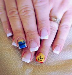 Disney Winnie the Pooh Nails