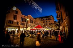 Christmas market in Saronno