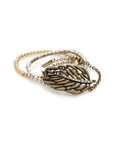 Natural Wonder Bracelets: Trio of bracelets.
