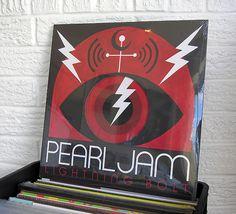 Pearl Jam vinyl at Wild Honey Records in Knoxville #pearljam #vinylrecords #recordstore