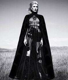 @gwenstefani exudes super powers in #HauteCouture for @instylemagazine #strong #fierce
