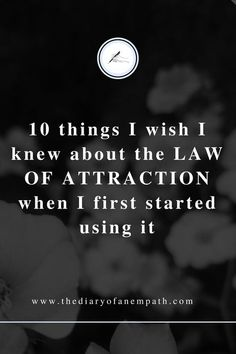 my law of attraction success story and tips to help you be successful too