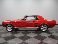 1967 Ford Mustang Pictures: See 814 pics for 1967 Ford Mustang. Browse interior and exterior photos for 1967 Ford Mustang. 1967 Mustang, Ford Mustang Classic, Vintage Mustang, Ford Classic Cars, Mustang Cars, Ford Mustangs, Mustang Restoration, Best Muscle Cars, Sweet Cars
