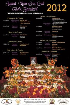 Day of the Dead events in Zaachila