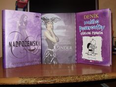 The most beautiful violet books.