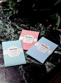 Perfumed Sachets by Kerzon #theCollection #Kerzon