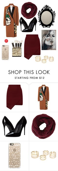 """""""Winter Wonderland"""" by rodriguez-cristal ❤ liked on Polyvore featuring By Malene Birger, Dolce&Gabbana, BCBGMAXAZRIA and Casetify"""