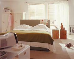 Minimales Design fürs Schlafzimmer