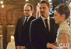 "Beauty and the Beast -- ""Destined"" -- Image Number: BB313b_0123.jpg -- Pictured (L-R): Austin Basis as JT, Jay Ryan as Vincent and Kristin Kreuk as Catherine -- Photo: Ben Mark Holzberg/The CW -- © 2015 The CW Network, LLC. All rights reserved."