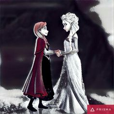 Anna and Elsa!