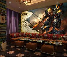gaming mural wukong sun league colossalous hero