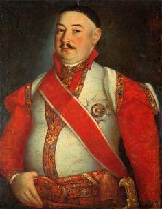 Portret Jerzego Skarżyńskiego w mundurze orderowym, koniec XVIII w., Muzeum Narodowe w Poznaniu